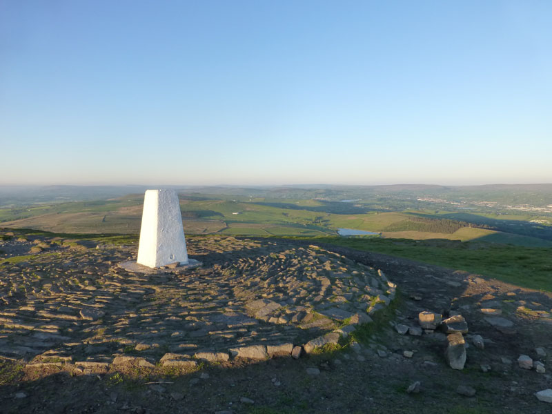 Pendle Trig Point