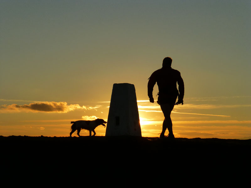 Pendle walker