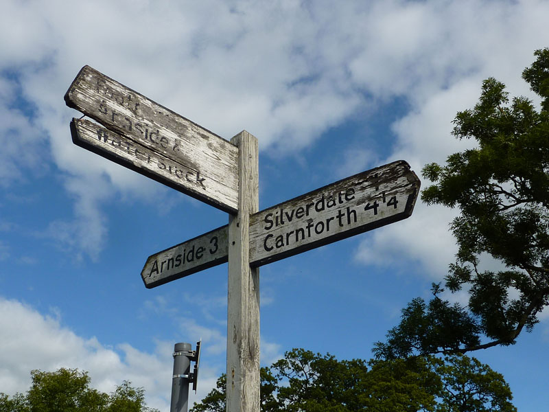 Signpost Silverdale
