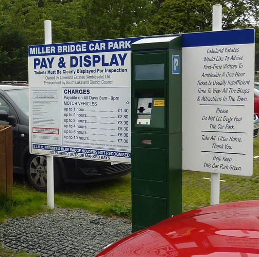 Pay Display