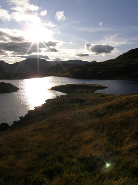 Brock Crags Angle Tarn Mountain