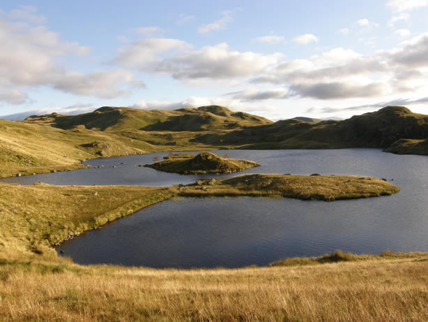 Brock Crags and Angle Tarn