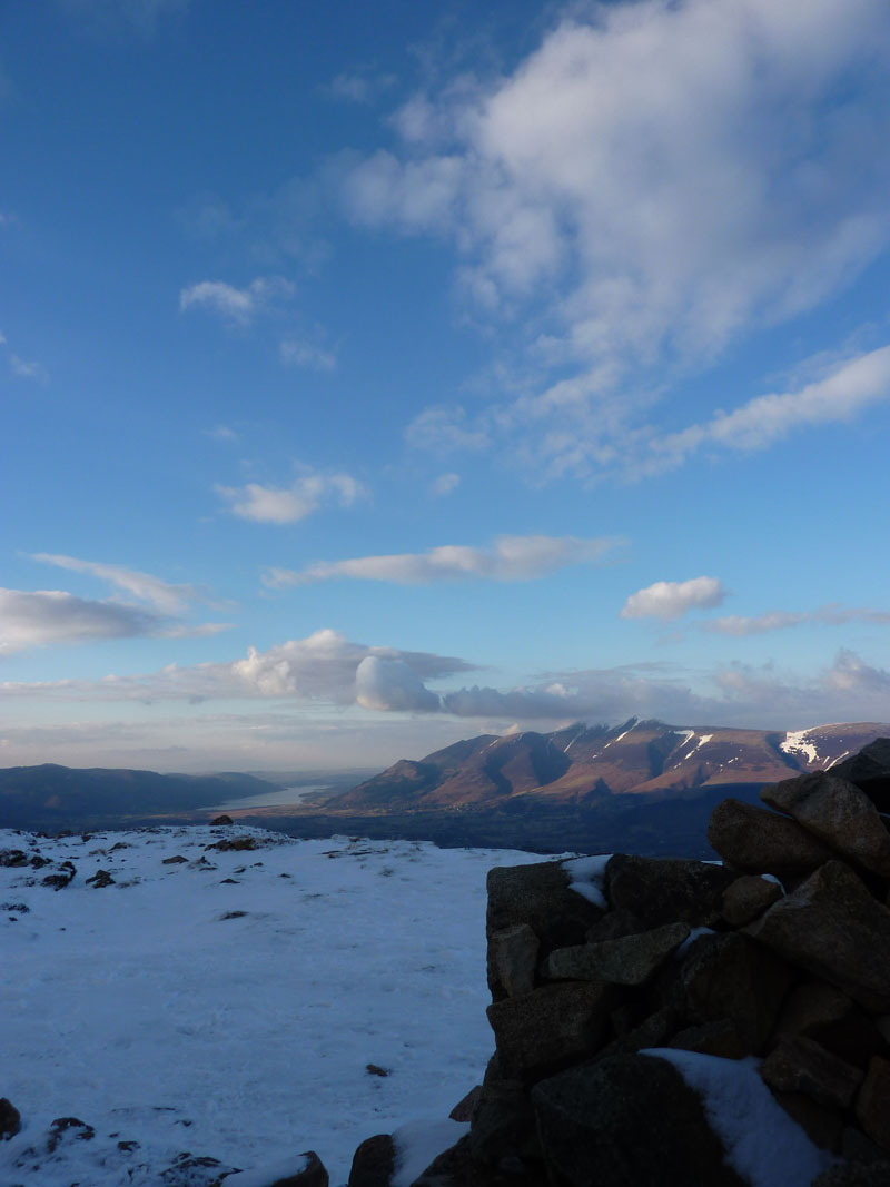 Skiddaw from Bleaberry Fell